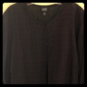 Eileen Fisher XL Chocolate brown Top and Pants